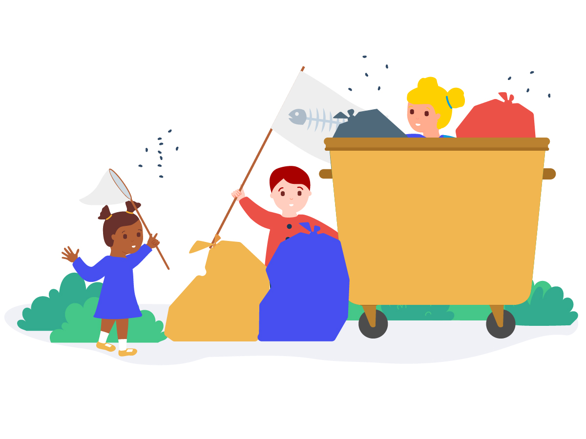 The Happiest Children Are Playing in the Garbage