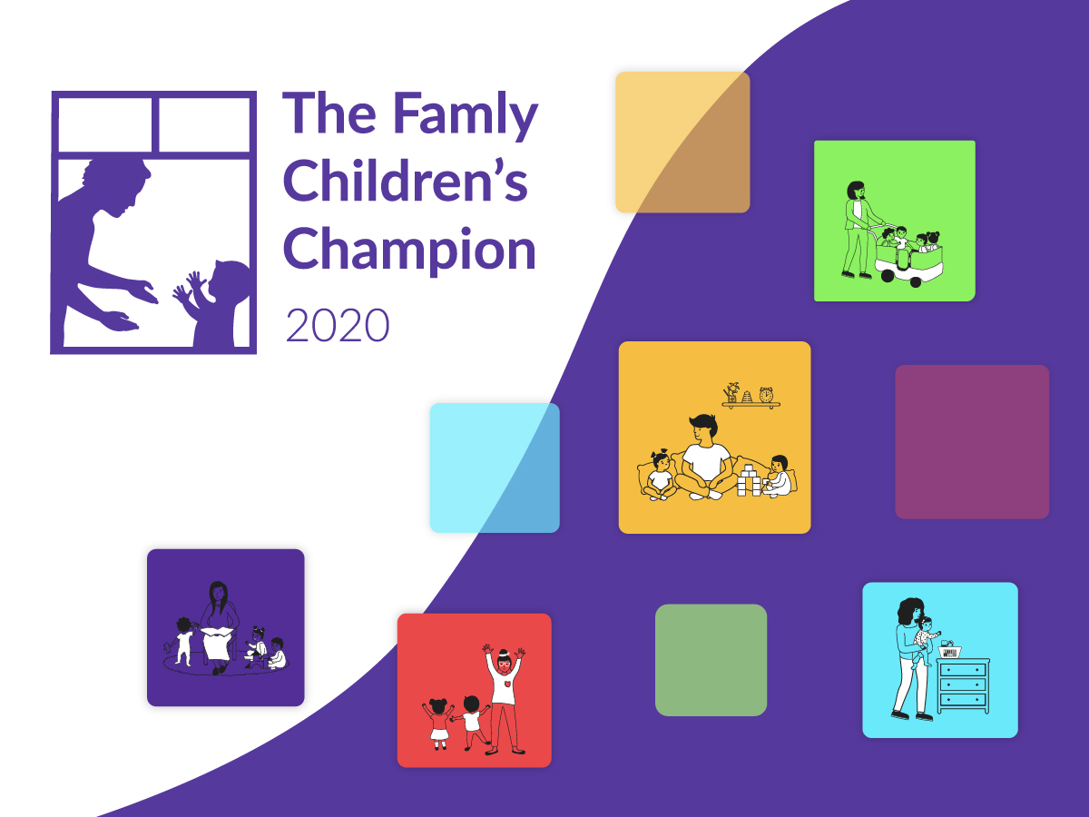Announcing: The Famly Children's Champion 2020 Shortlist
