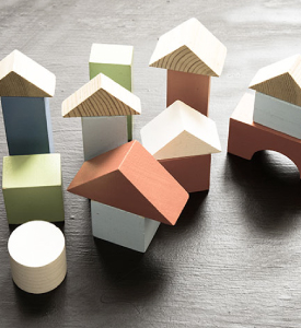 Simple building blocks structures