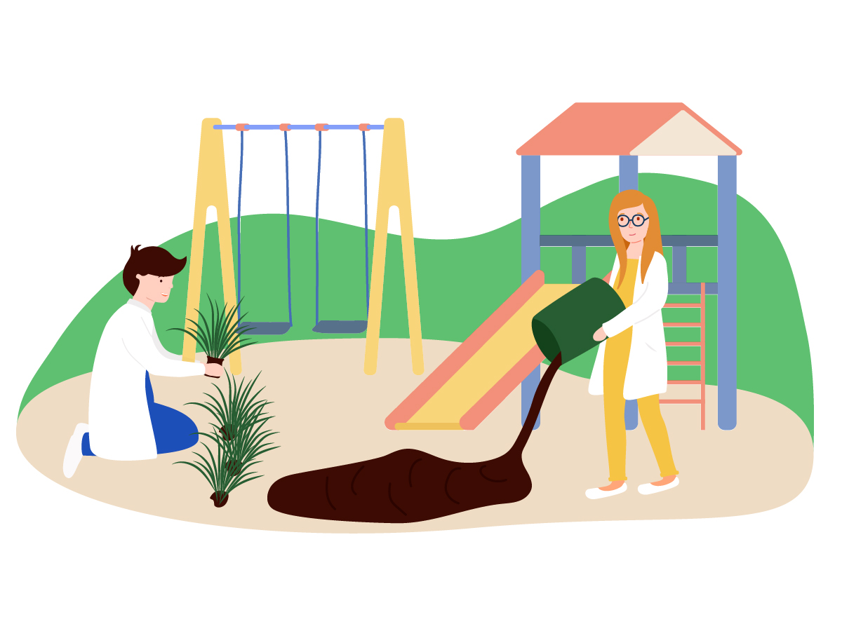 Why are these Finnish scientists filling daycares with dirt?