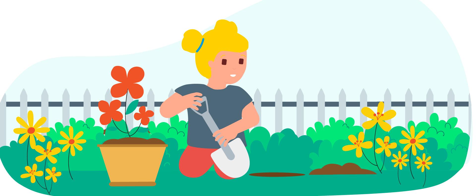 10 green ideas to explore gardening with children