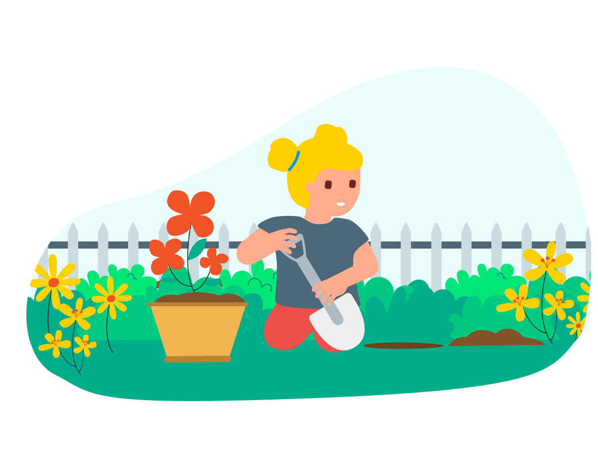 10 green ideas to explore gardening with children