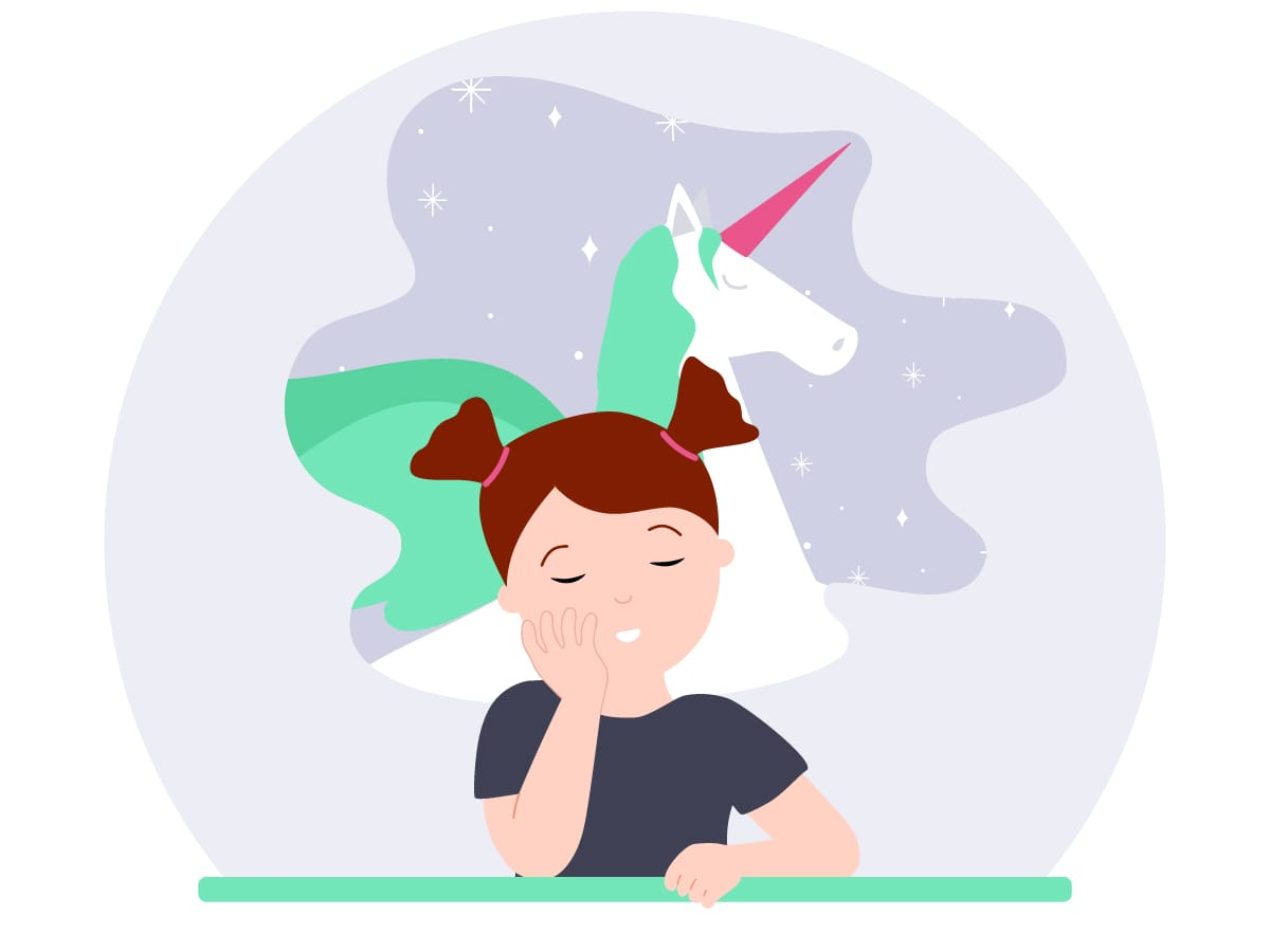 What do you do when children ask if unicorns are real?