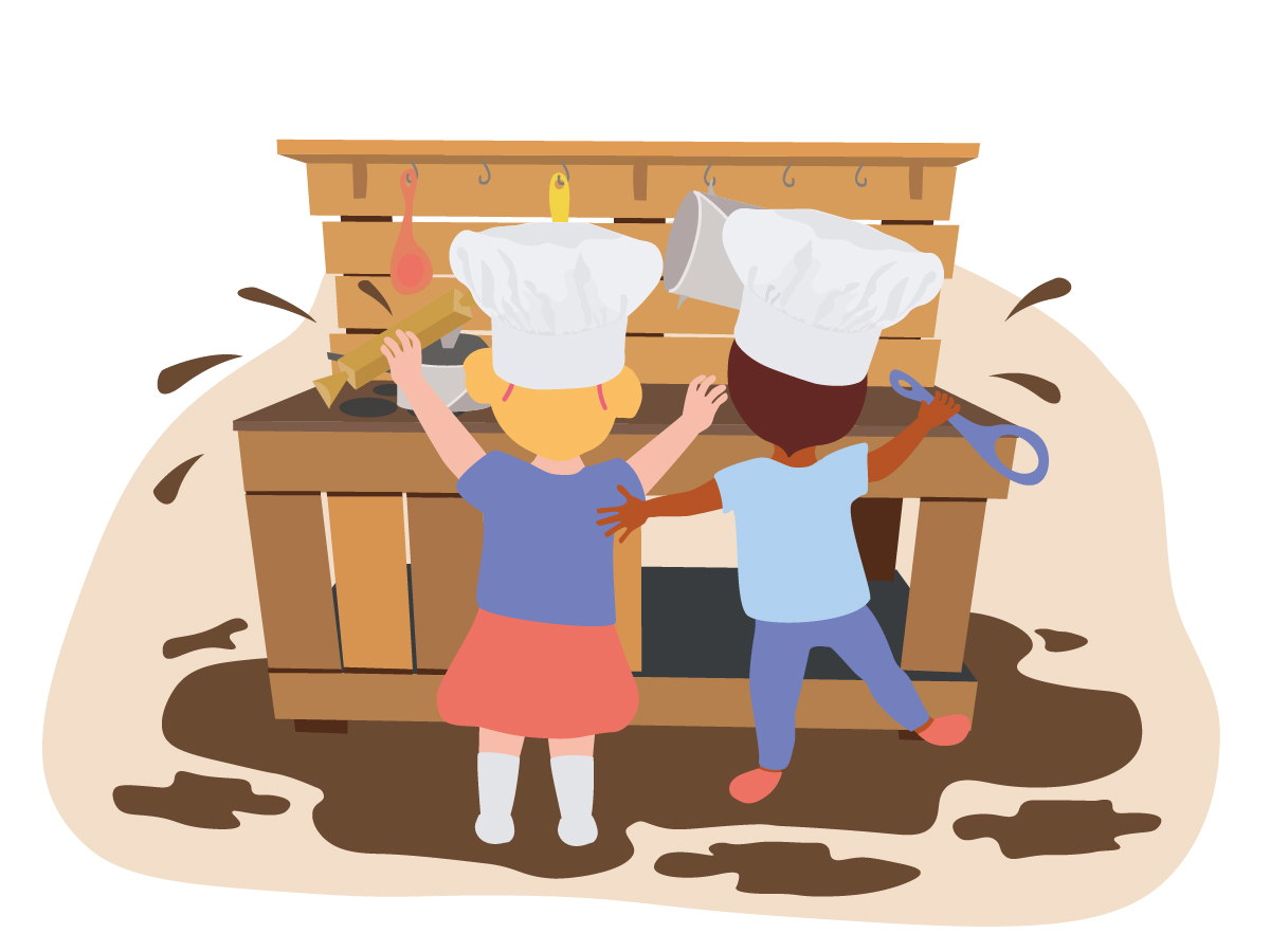 10 ideas to cook up in your Early Years mud kitchens | Famly