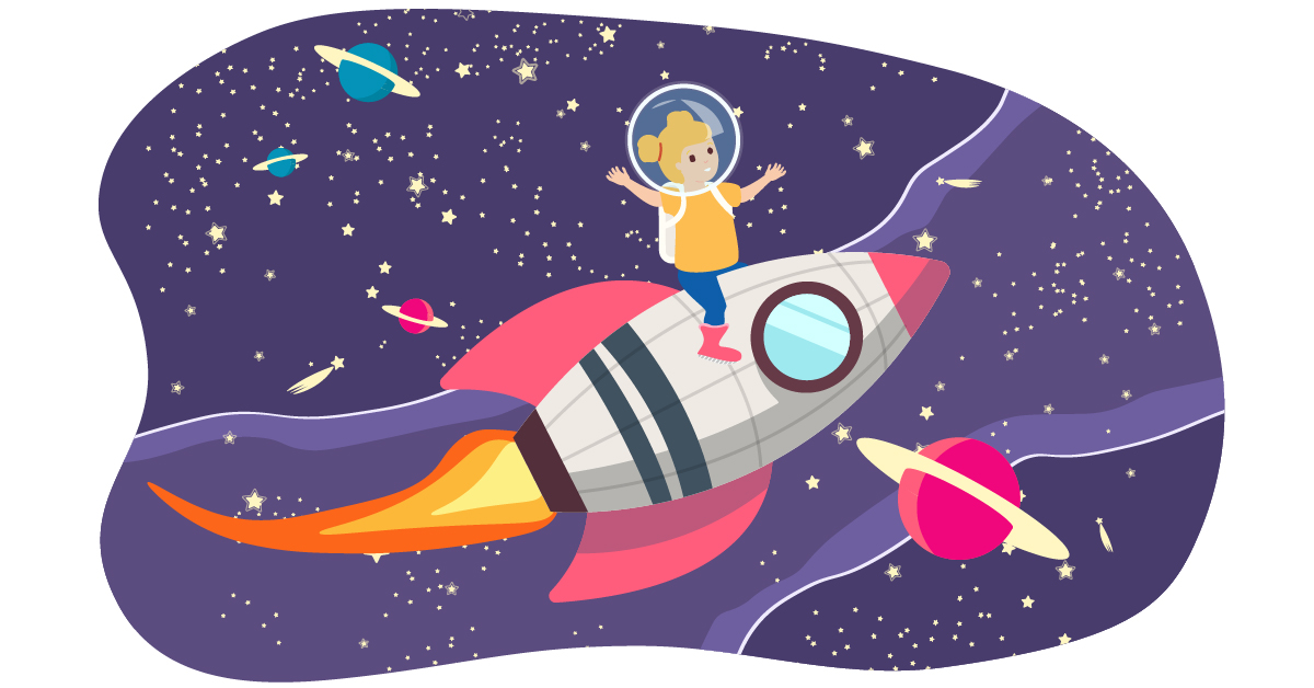 9 Early Years space activities for little astronauts