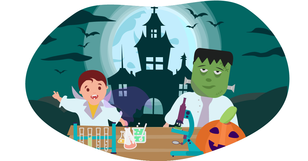 Halloween crafts: 6 spooky science experiments for young children