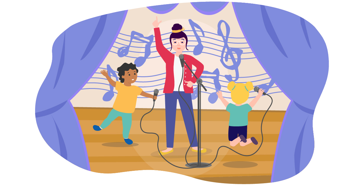 Sing with children, even if you're bad at it