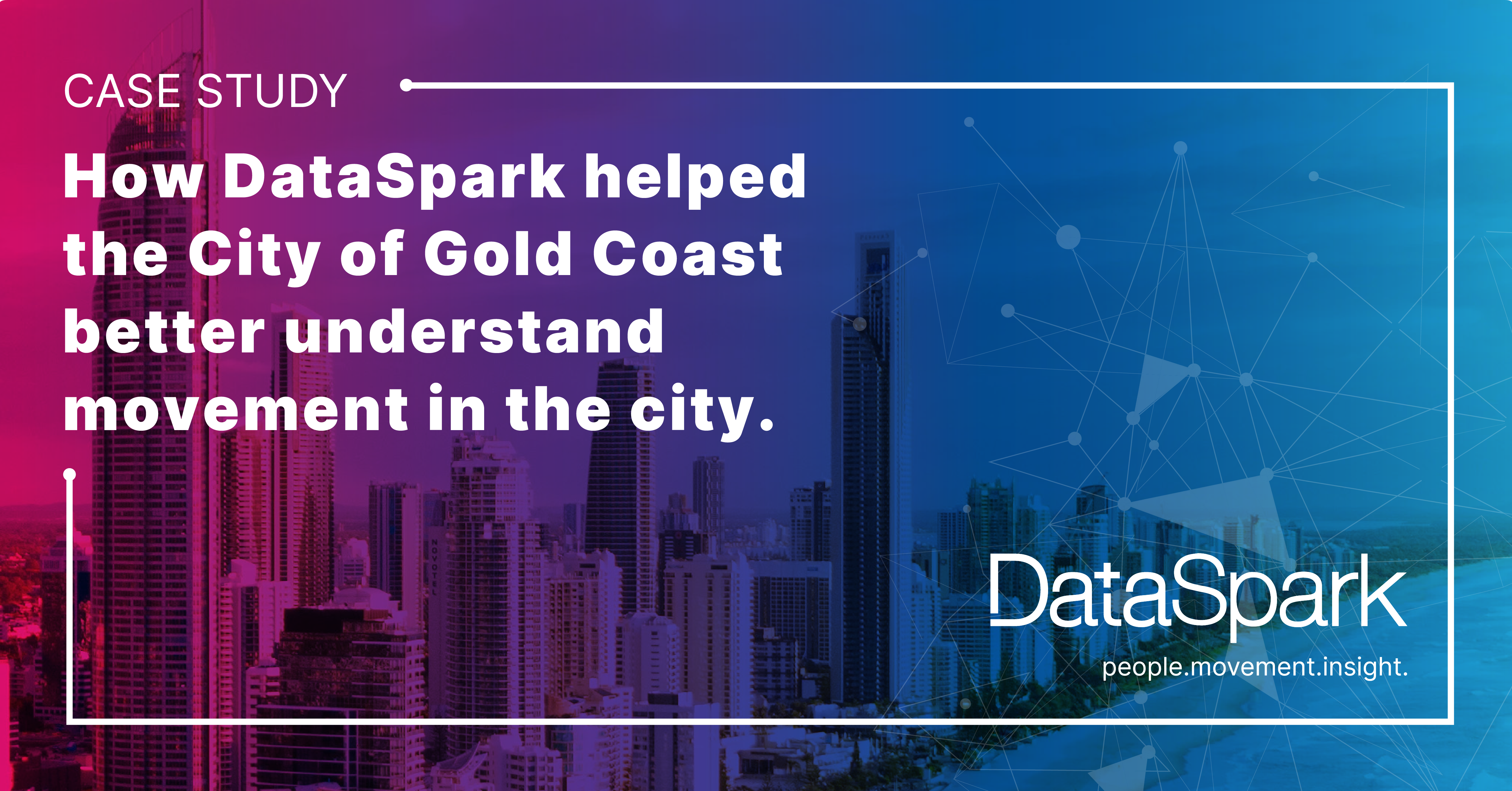 How DataSpark helped the City of Gold Coast better understand movement in the city
