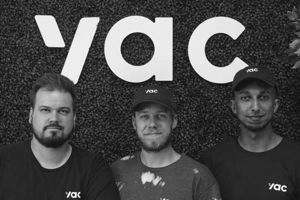 yac founders justin mitchell, hunter mckinley, jordan walker