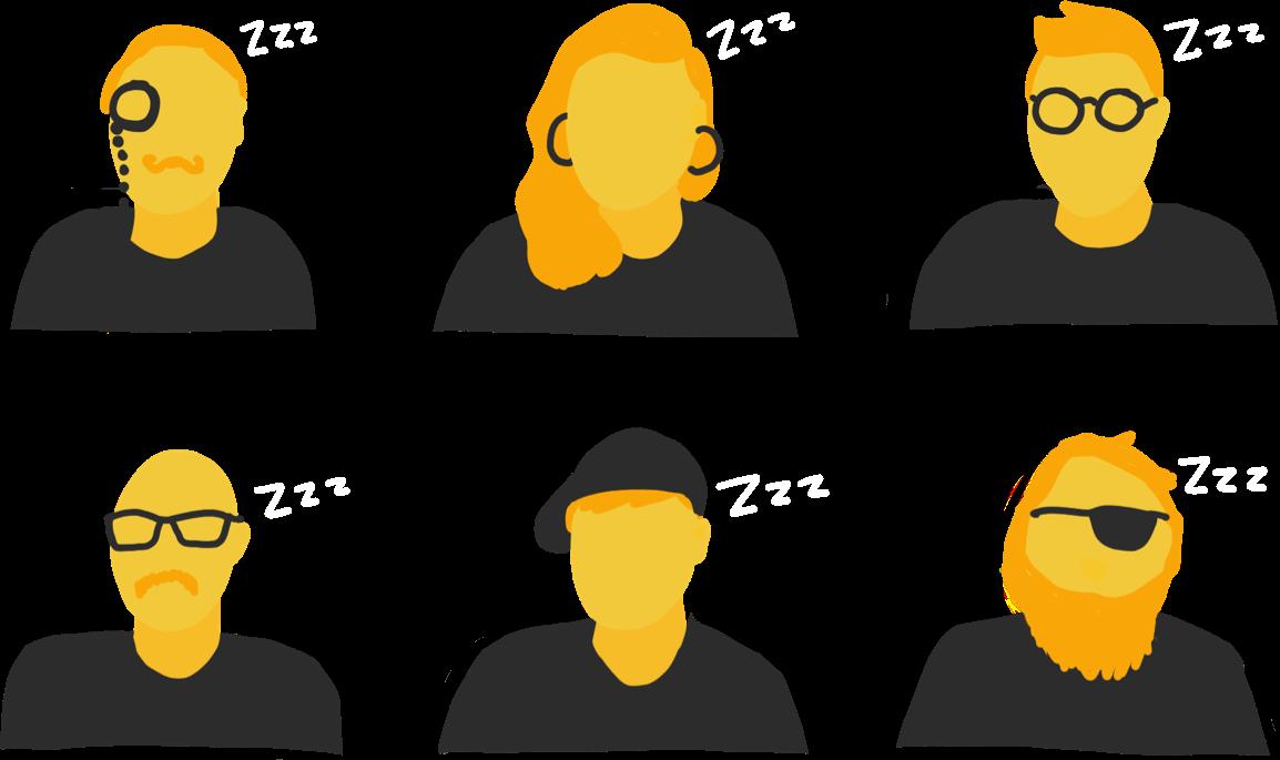 Sleepy users in meetings