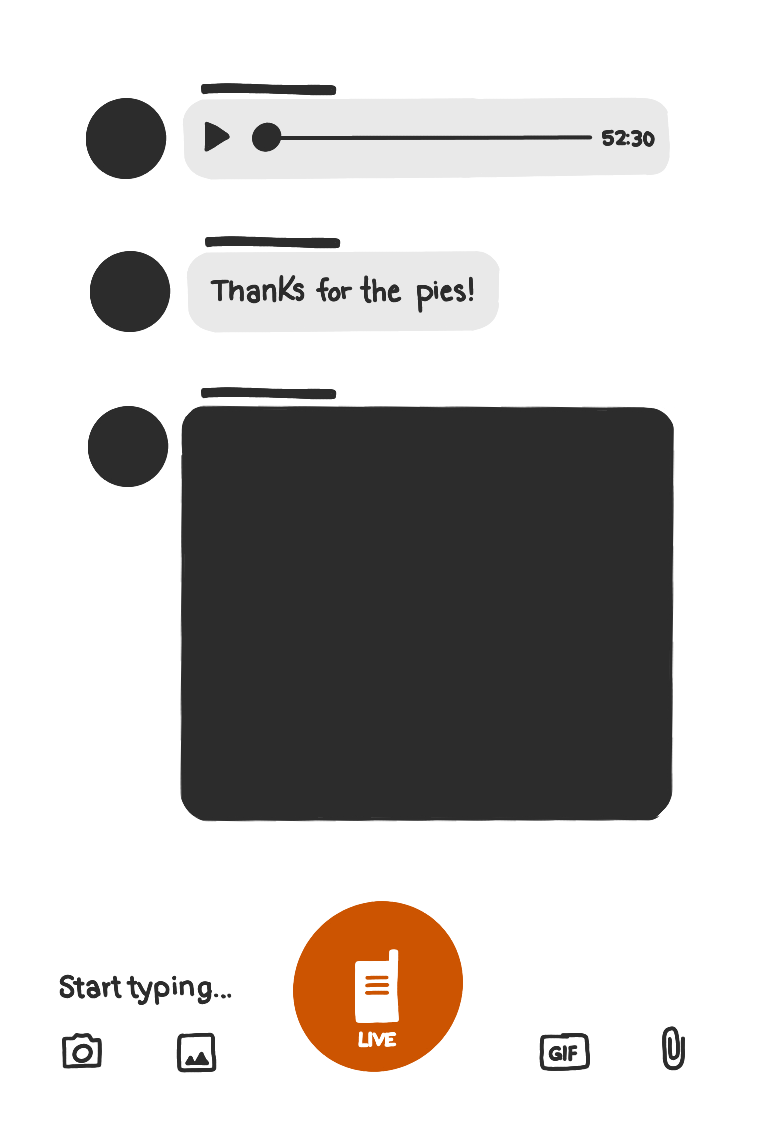 Example of Voxer