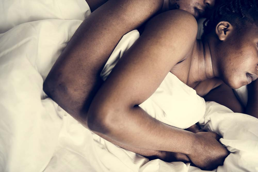 Is spooning cuddling what Erections while