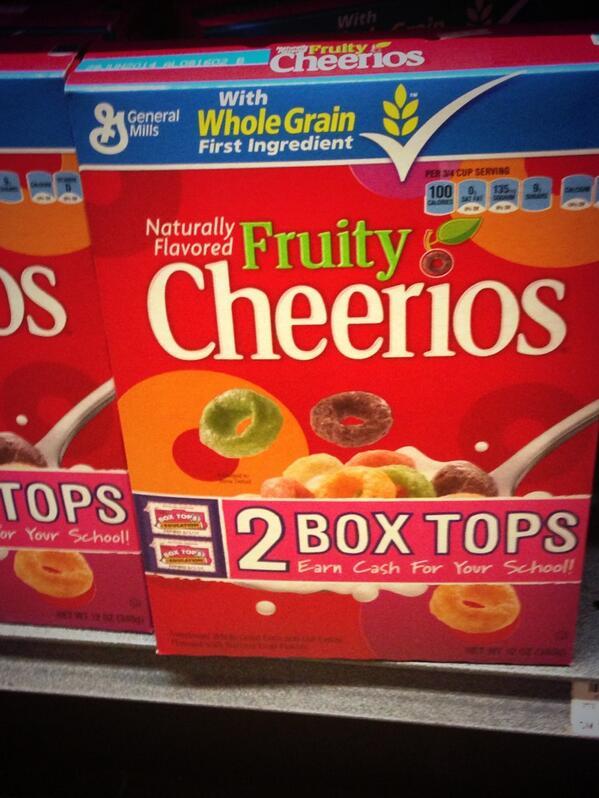 gay cheerios