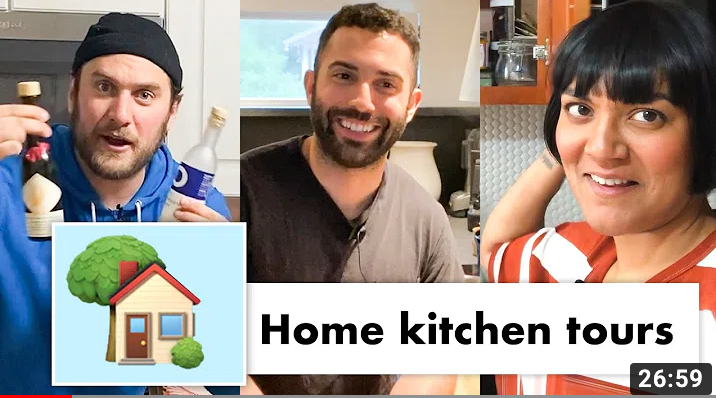 The BA Test Kitchen crew sharing their home kitchens is hours well spent!