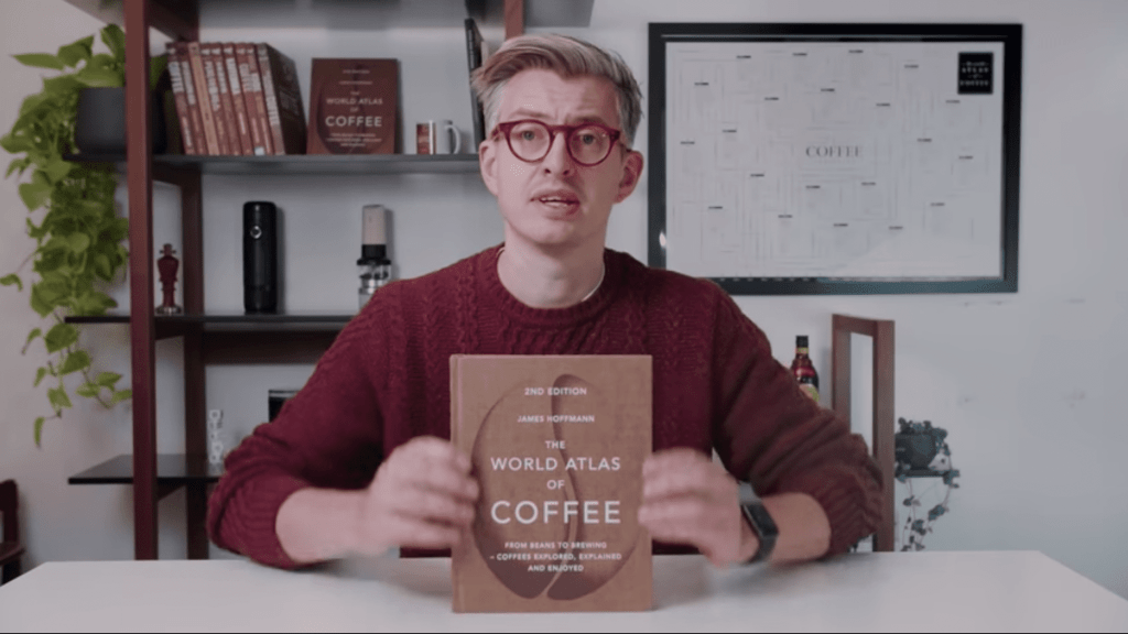 Just look at the visual aesthetic in his videos along with coffee... all the coffee you can handle!
