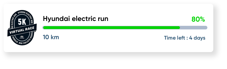 hyundai electric run challenge