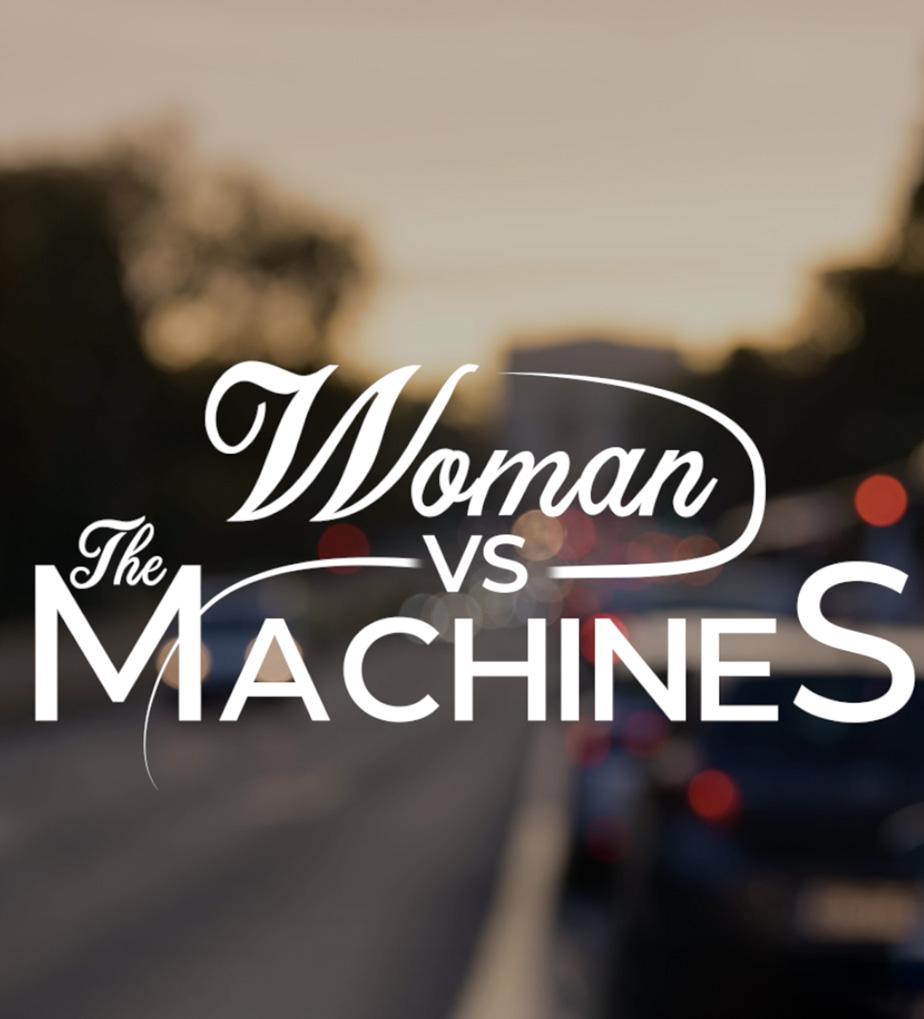 woman vs the machines