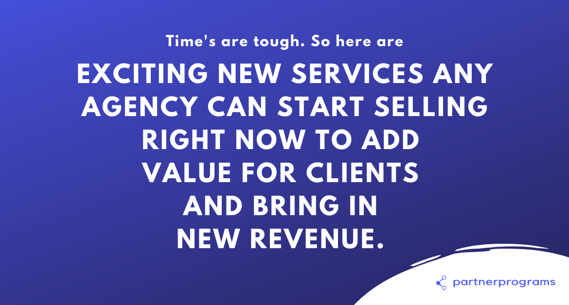 New Services any Agency can Start Selling Right Now to Add Value for Clients and Bring in New Revenue!
