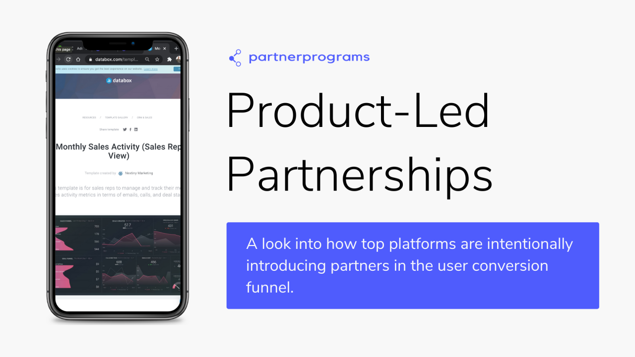 """""""Product-Led Partnerships"""" - what it is, why it works, and how to implement it."""