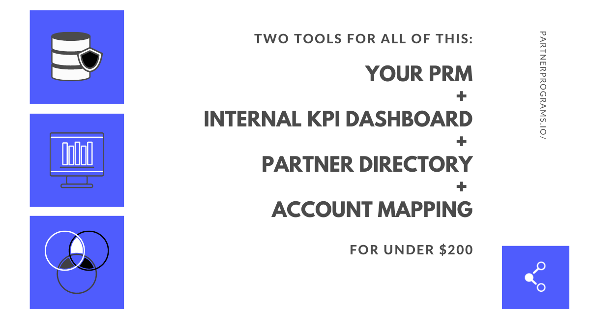 Partnerships Growth Management Stack for Under $200/mo.
