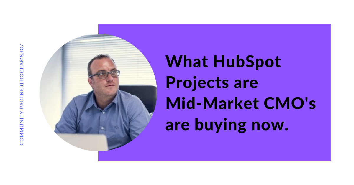 What HubSpot services CMOs are ordering, for how much, how often, and in what verticals.