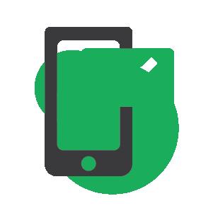 Text icon.