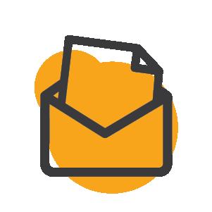 Mailing icon.