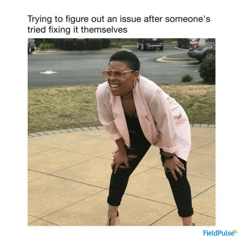 Electrician Meme: Trying to figure out an issue