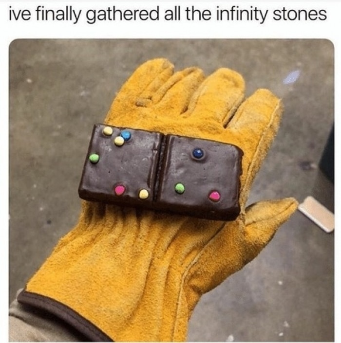 Electrician Meme: I've finally gathered all the infinity stones