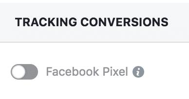 Skip Tracking Conversions
