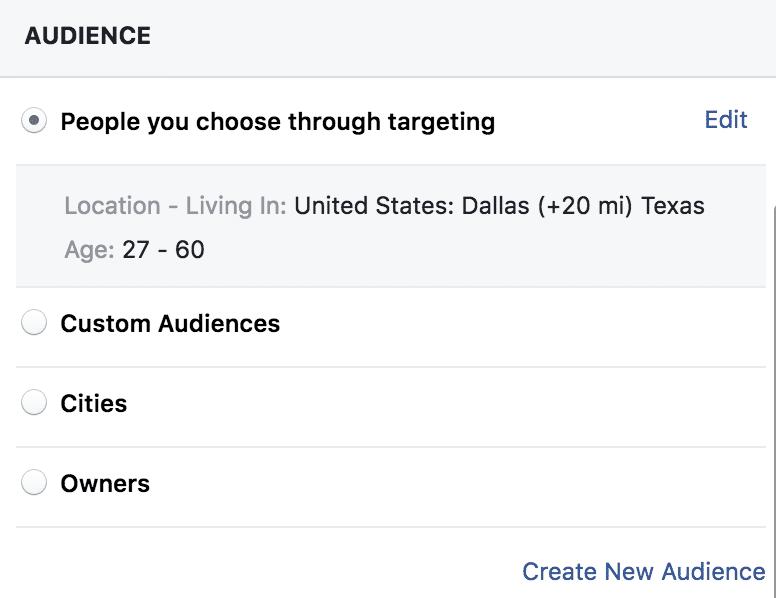 Audience - People You Choose