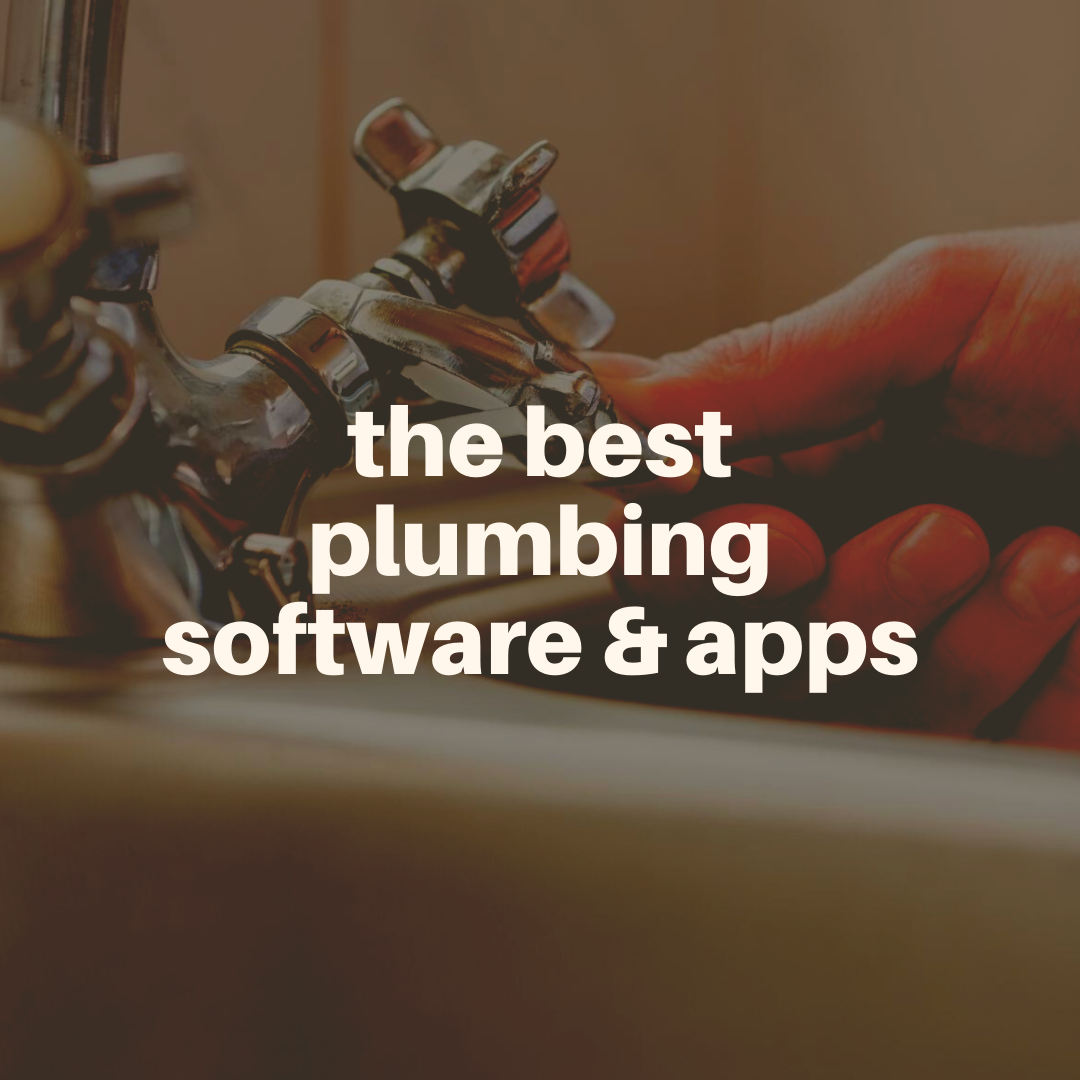 best plumbing software