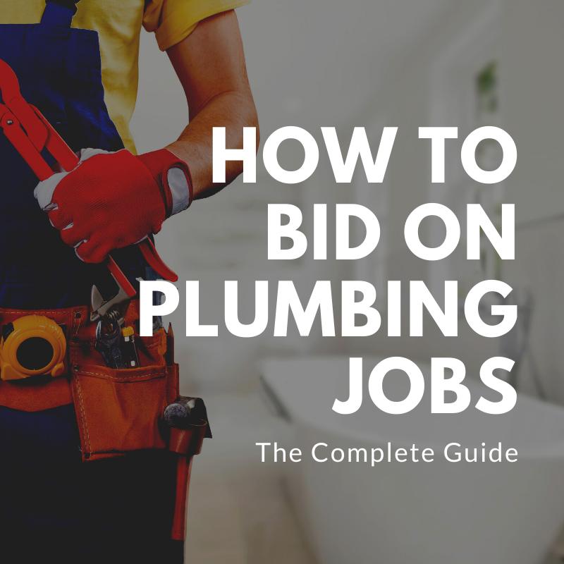 how to bid plumbing jobs
