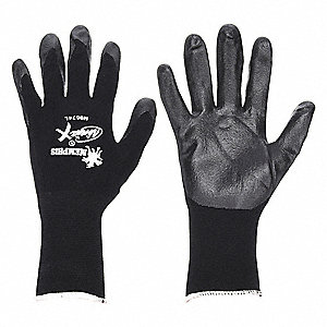Bipolymer Coated Gloves