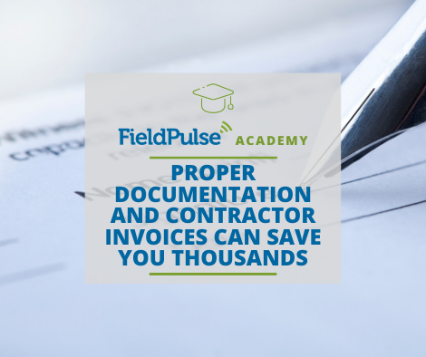 Service Business Plan - Proper Documentation and Contractor Invoices