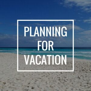 Planning Time Off