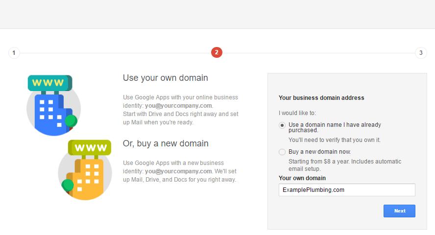 Google Domain Registration 2