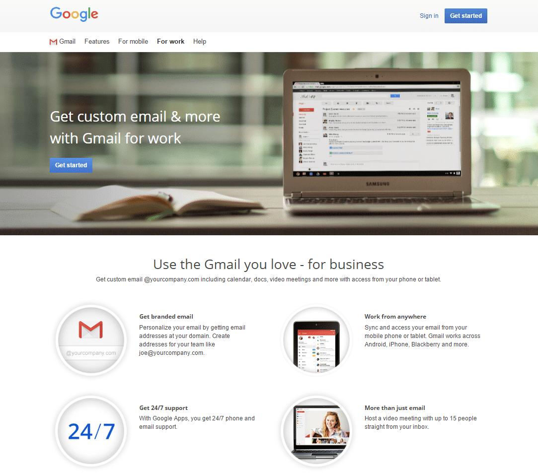 Google Apps Registration
