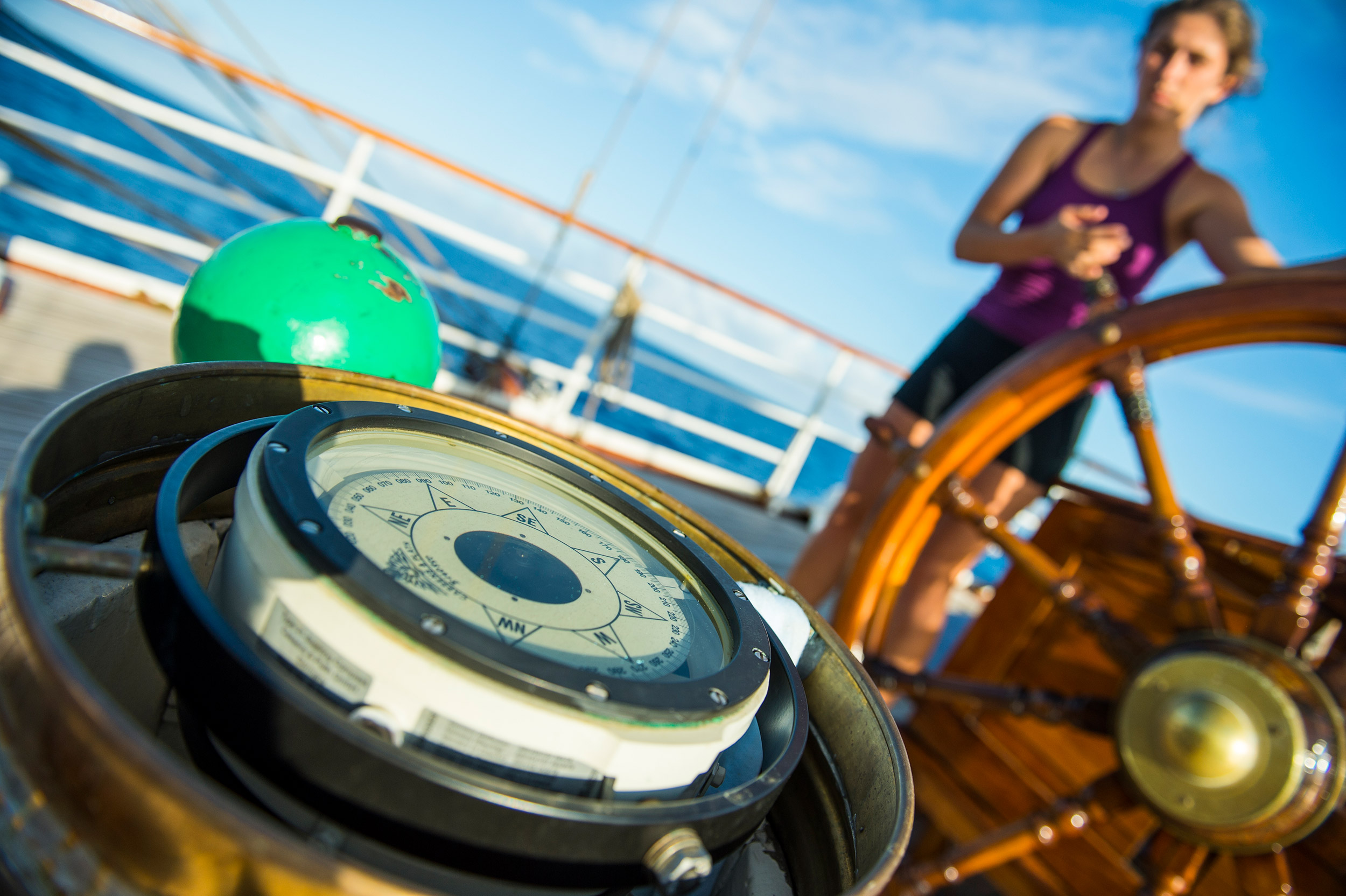 Sjømannsliv på Fullriggeren - en seilas fra Kristiansand til Farsund