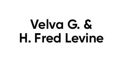Velva G and H Fred Levine