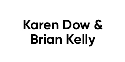 Karen Dow and Brian Kelly