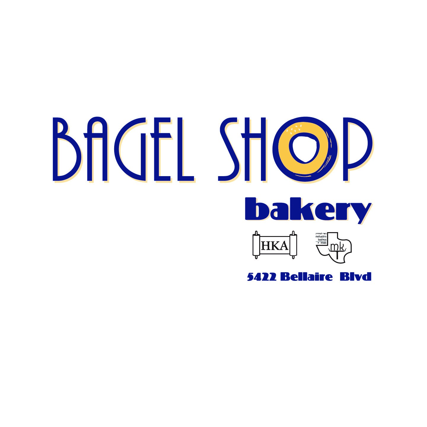 Bagel Shop Bakery HKA MKT 5422 Bellaire Blvd