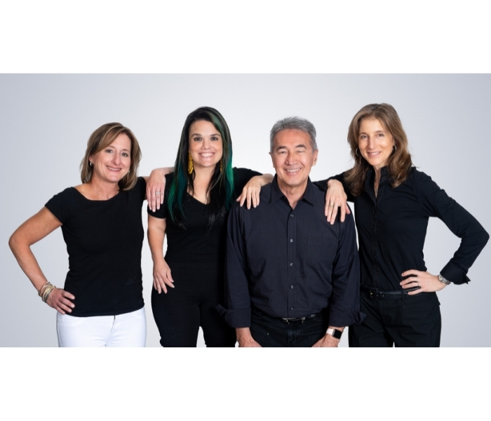 Marcy Margolis, Diana Codispoti, Michael McCulloch and Eve Lapin