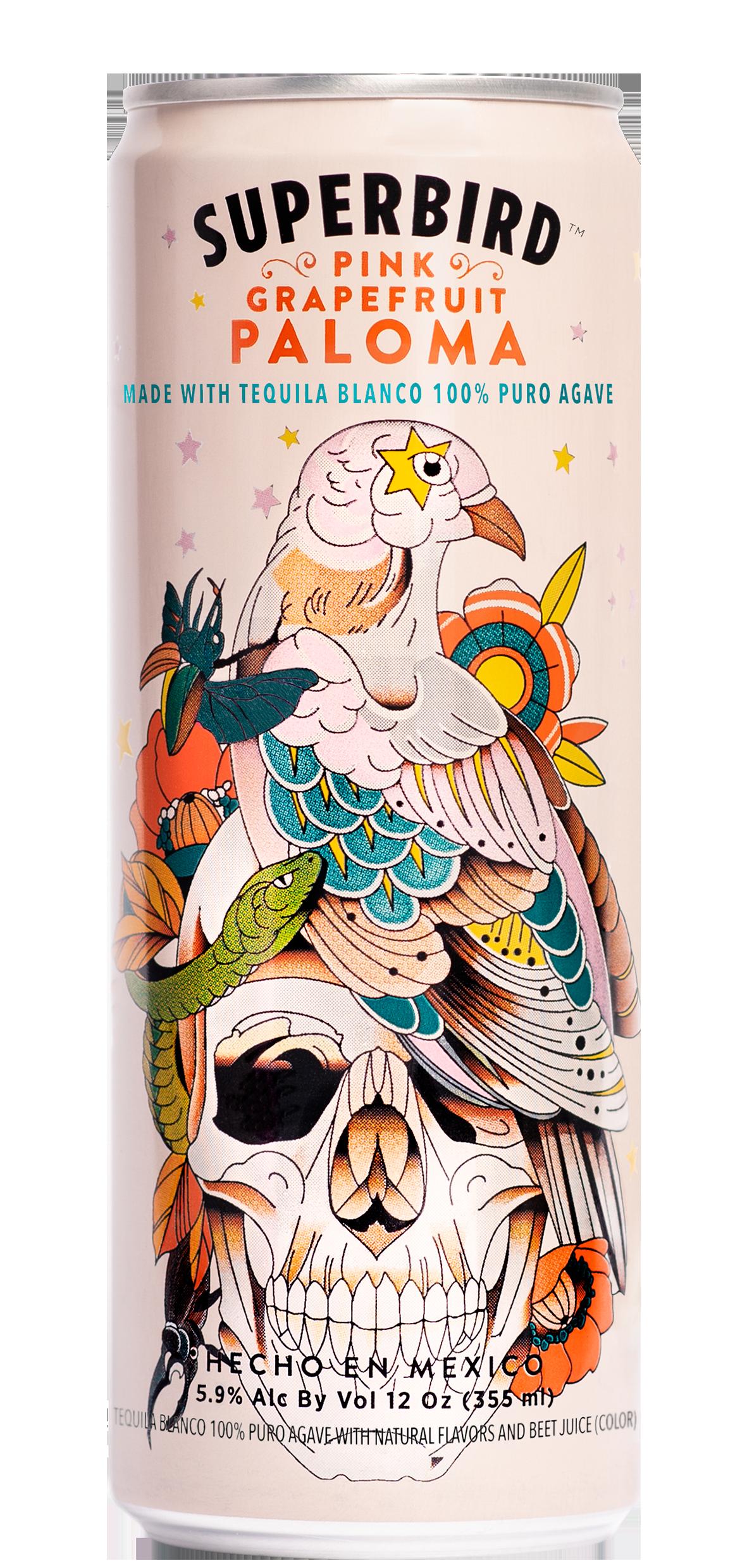 A can of Superbird Paloma