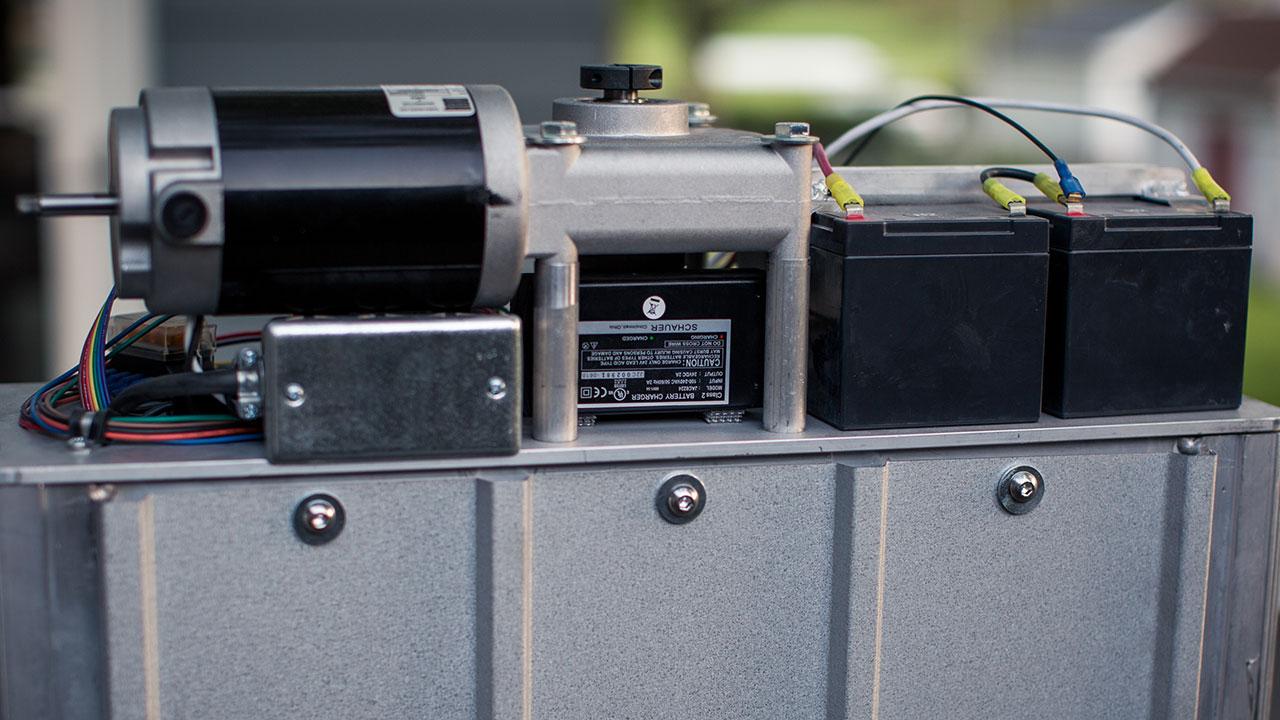 PASSPORT Vertical Platform Lift automotive style connectors