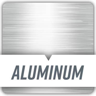 image of aluminum texture