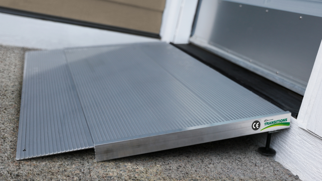 TRANSITIONS® entry ramps, mats, and plates