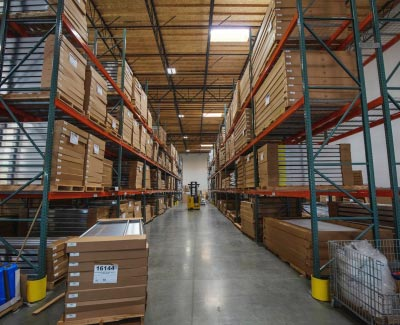warehouse of ramp products
