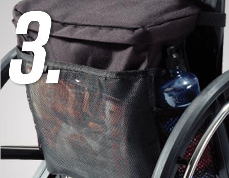 EZ-ACCESSORIES® Wheelchair Pack
