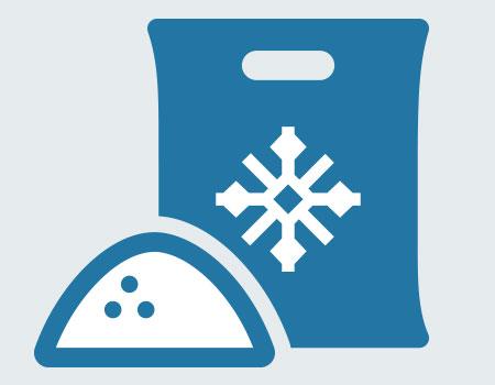bag of ice melt